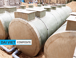 Bồn xử lý nước thải composite
