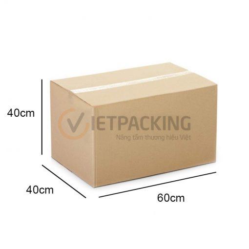 Thùng carton 60x40x40cm