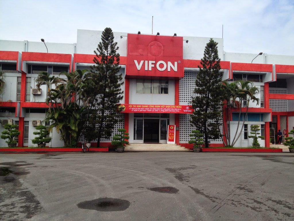 Khử trùng nhà máy Vifon Hải Dương
