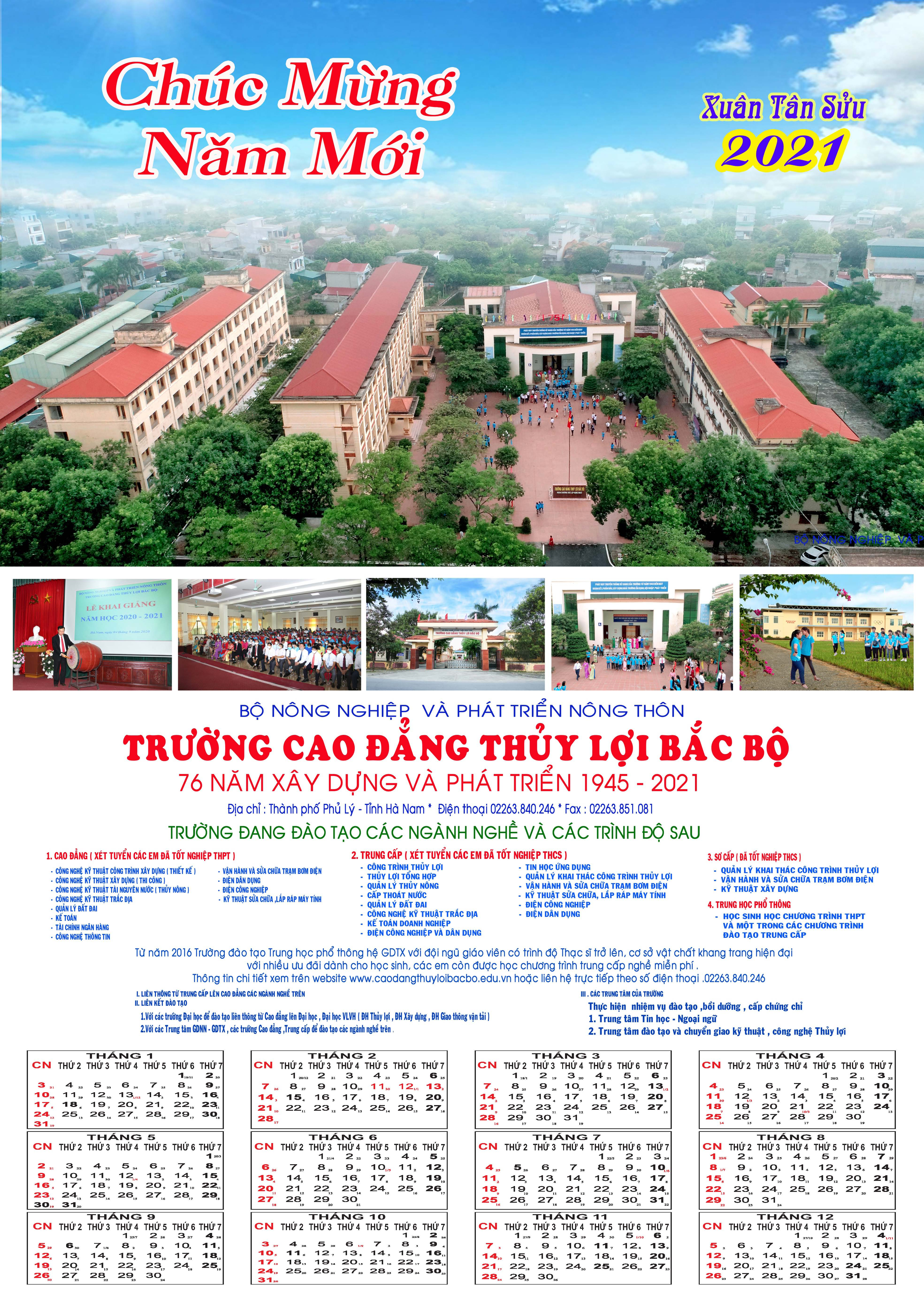 In ấn lịch treo tường