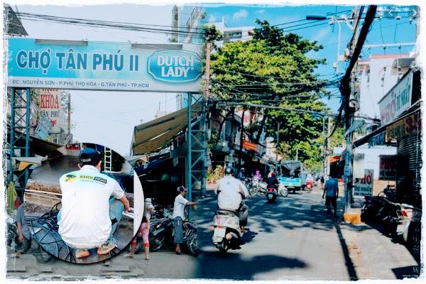 Hệ thống camera Chợ Tân Phú 2