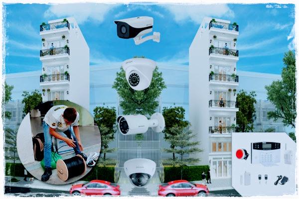 Hệ thống camera tòa nhà ETECH