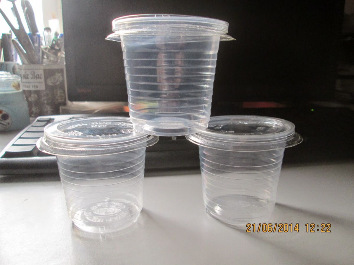 Cốc nhựa PP dùng 1 lần