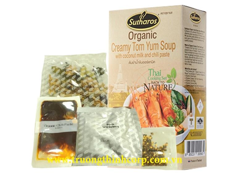 Gia vị nấu súp Creamy Tom Yum Organic