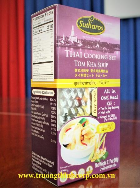 Gia vị nấu súp Tom Kha