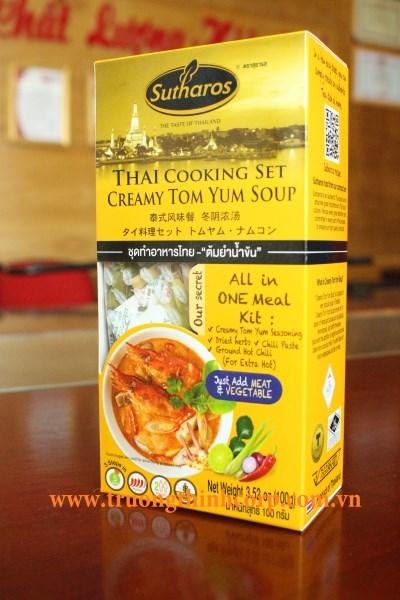 Gia vị nấu Tom Yum ( có bột sữa dừa)