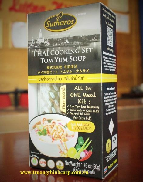 Gia vị nấu Tom Yum ( Ko có bột sữa dừa)