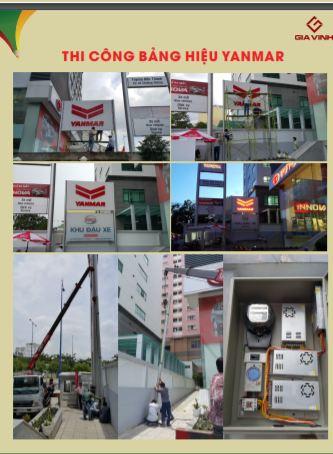 Dự án bảng hiệu Myanmar