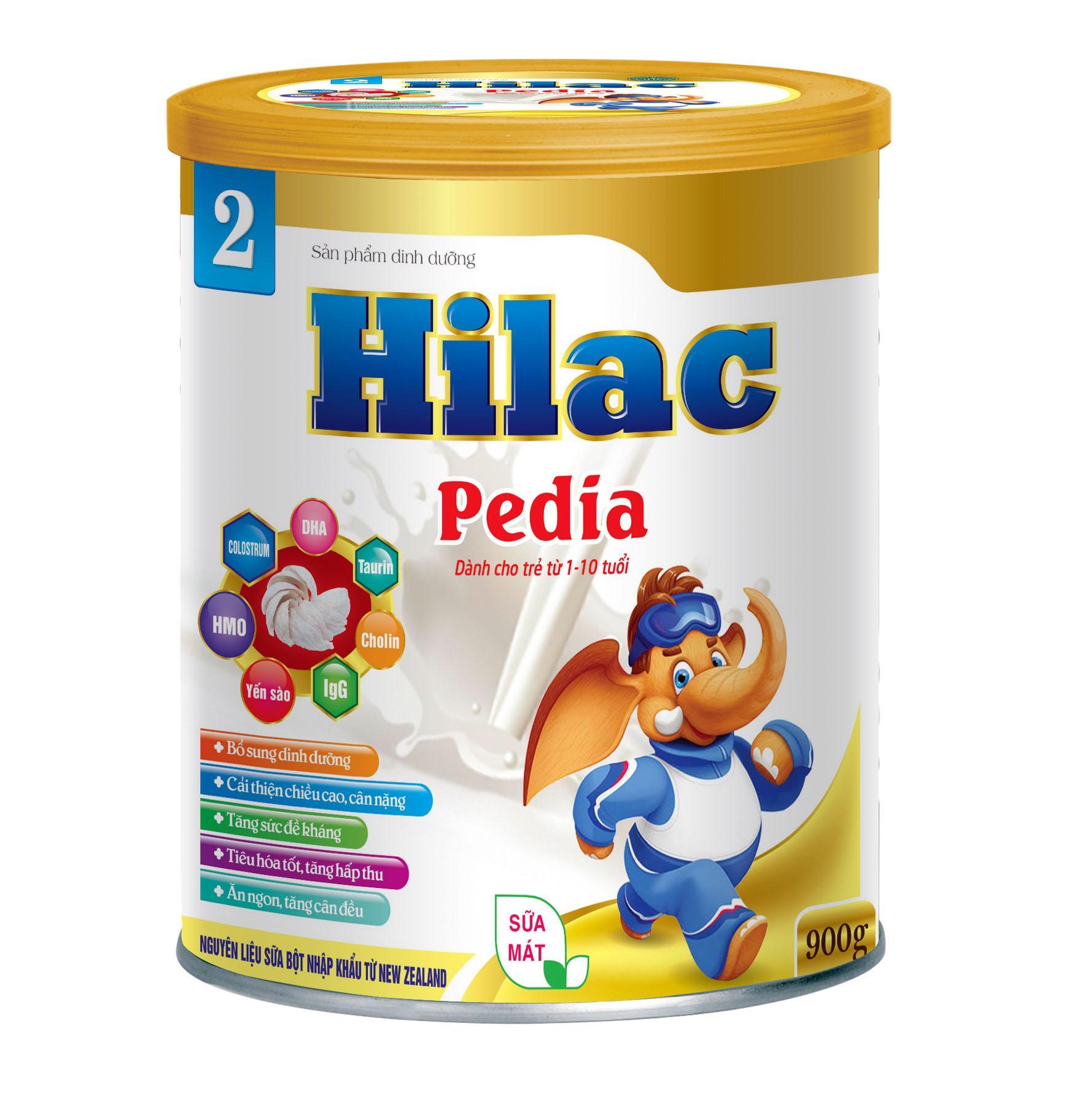 Hilac Pedia bé 1-10 tuổi