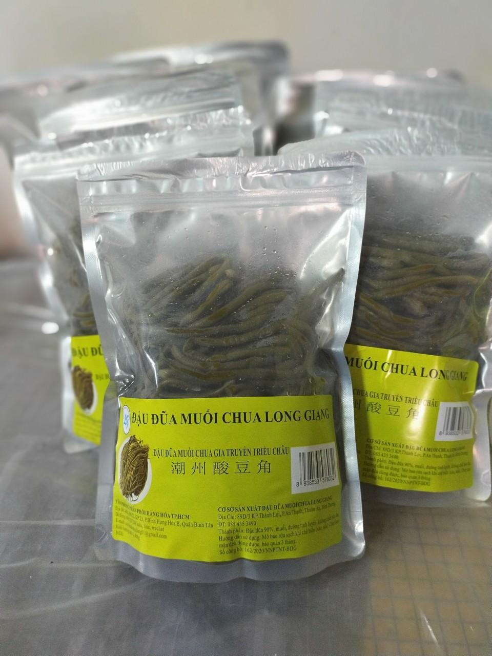 Đậu đũa muối chua Long Giang