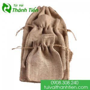 Túi vải đay có dây rút