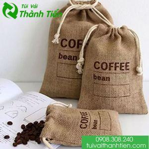 Túi vải đay đựng cà phê