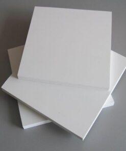 Gỗ nhựa PVC trắng