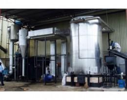 Lò dầu tải nhiệt đốt vỏ hạt điều tự động