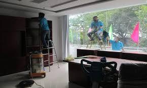 Dịch vụ vệ sinh công trình sau xây dựng