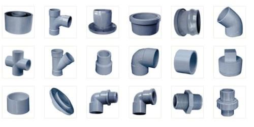 Các loại ống nước, phụ kiện