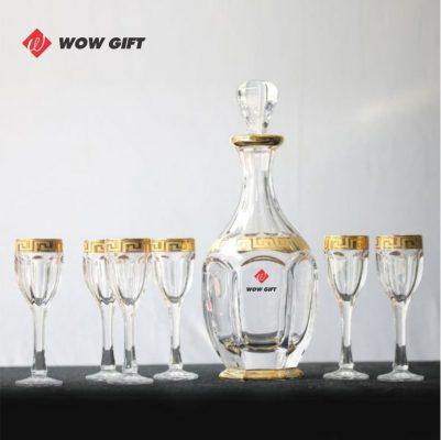 Bộ chén uống rượu quà tặng