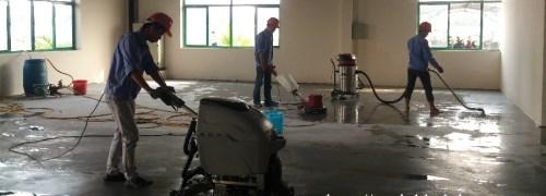 Vệ sinh sau xây dựng