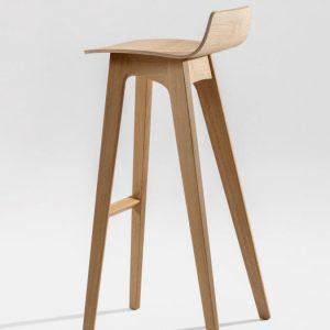 Ghế bar gỗ ngoài trời