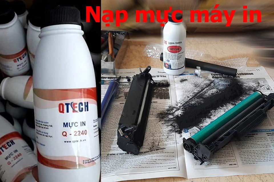 Nạp mực máy in