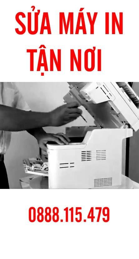 Sửa chữa, bảo trì máy in