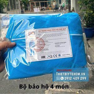 Bộ đồ bảo hộ y tế 4 món