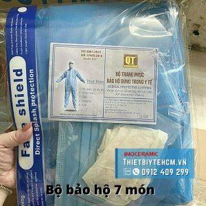 Bộ đồ bảo hộ y tế 7 món