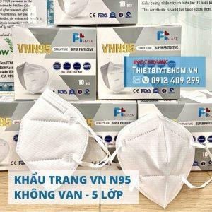 Khẩu trang y tế 5 lớp VN N95