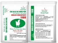 Thức ăn cho gà thịt thương phẩm