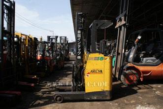Xe nâng điện đứng lái 1.5 tấn KOMATSU