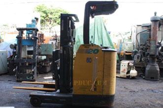 Xe nâng điện đứng lái 2 tấn KOMATSU
