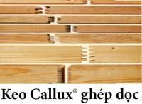 Keo Callux ghép dọc