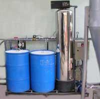 Hệ thống làm mềm nước cất cho nồi hơi
