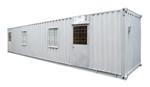 Container văn phòng 40Feet có toilet