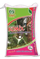 KOMIX - Phân lân hữu cơ vi sinh cho cây cao su