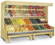 Tủ hoa quả siêu thị