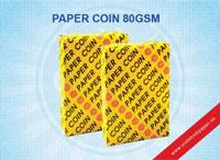 Giấy Photocopy Paper Coin 80gsm (Vàng)
