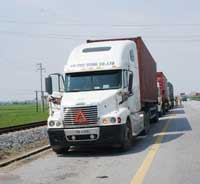Vận tải container nội địa