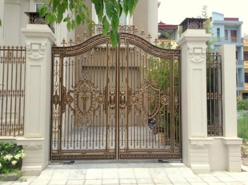 Cổng Nhôm