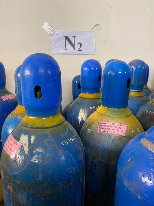 Bình khí  nitơ