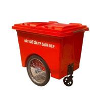 Thùng rác Composite có bánh xe