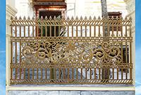 Hàng rào nhôm đúc F013