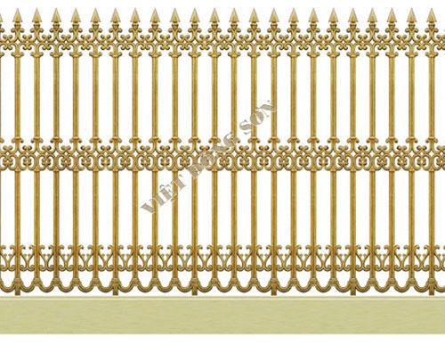 Hàng rào hợp kim nhôm F001