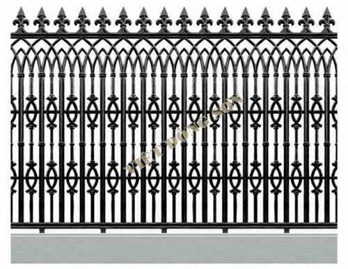 Hàng rào hợp kim nhôm F005