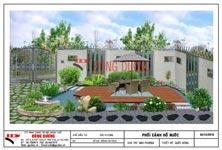 Công trình sân vườn biệt thự vườn Dĩ An