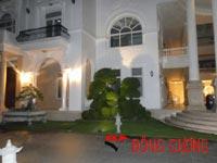 Công trình sân vườn dinh thự Vĩnh Hưng