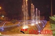 Hệ thống phun nước nhà hàng Dìn Ký