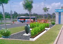 Công trình sân vườn trường Đại học Quốc tế