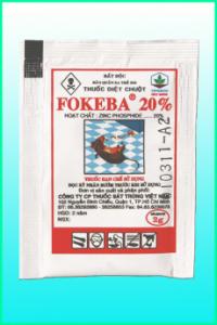 Thuốc diệt chuột FOKEBA 20