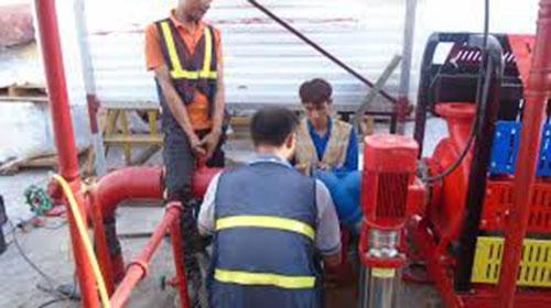 Lắp đặt hệ thống báo cháy chữa cháy